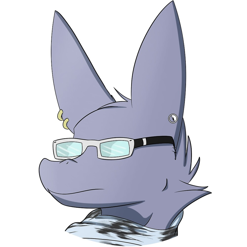"""Furry Dragon Pics hipster glasses and scarf furry dragon with piercings"""""""