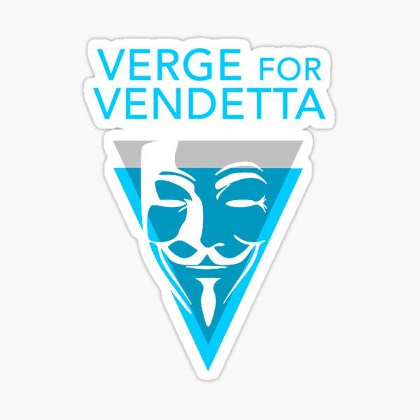 Verge for Vendetta Sticker
