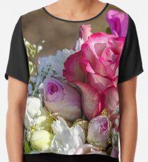 Rose flowers Modern Art Chiffon Top