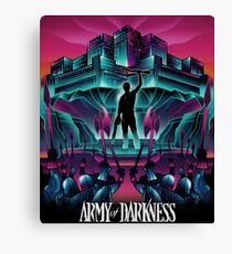 ARMY DARKNESS Canvas Print