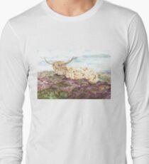 Highland Coo Long Sleeve T-Shirt