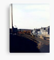 Railroad Locomotive Conrail  Metal Print