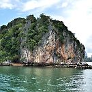 James Bond Island Andaman Sea by Caroline Scott