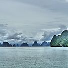 Andaman Sea Thailand by Caroline Scott