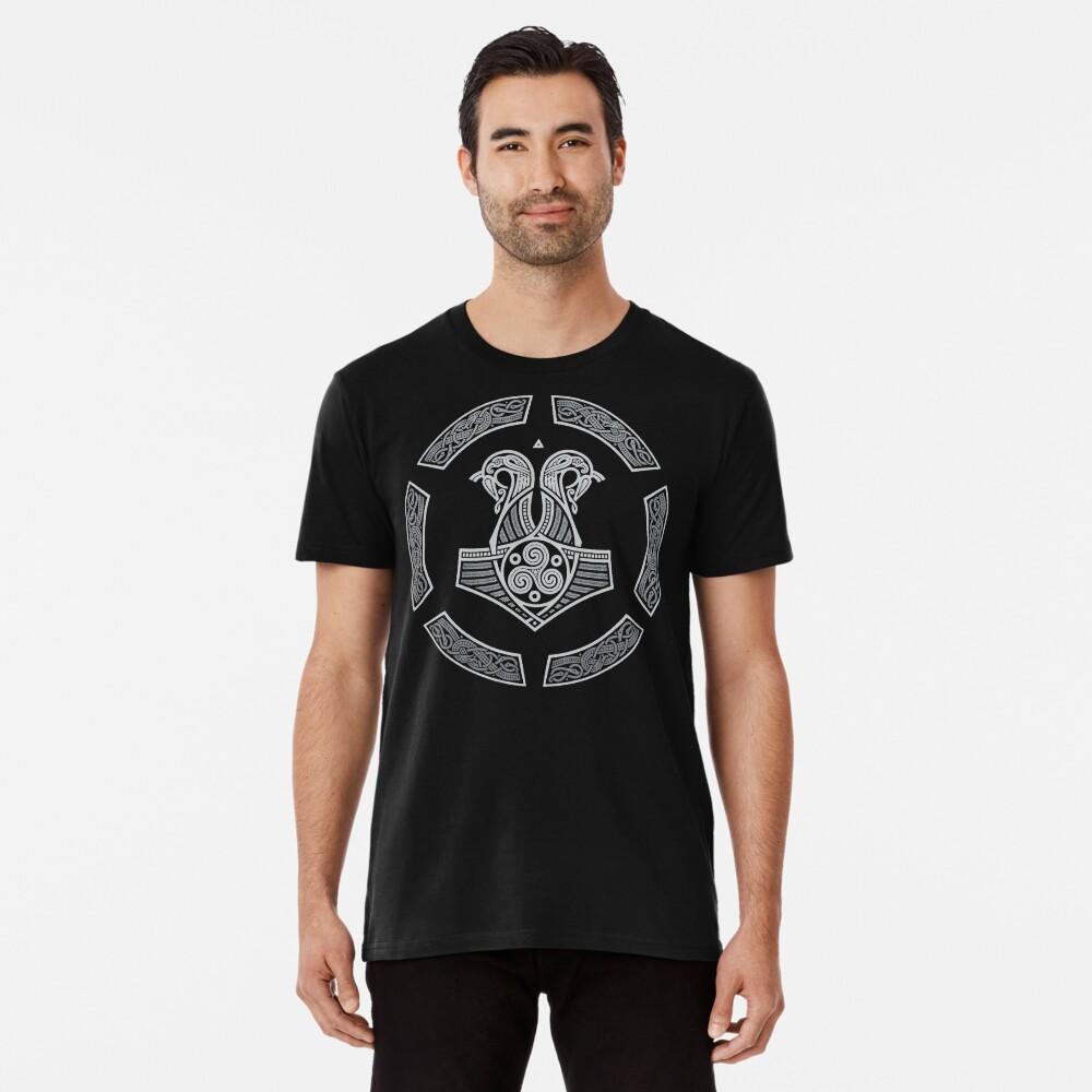 Nördliche NAVY Premium T-Shirt