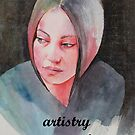 artistry journal for arty thoughts by Robyn Bradshaw