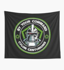 Cylon Centurions Wall Tapestry
