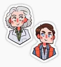 Doc and McFly Sticker