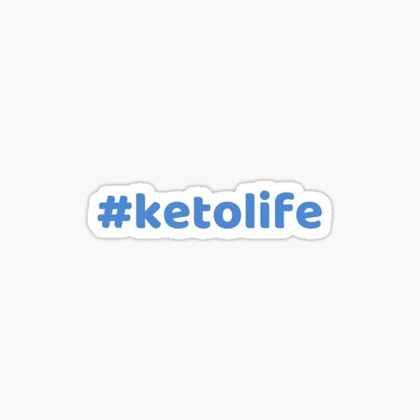 #Ketolife Sticker
