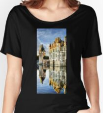 Chenonceau Castle in the sunset Women's Relaxed Fit T-Shirt