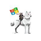 Ninja Cat Dire Wolf by estruyf