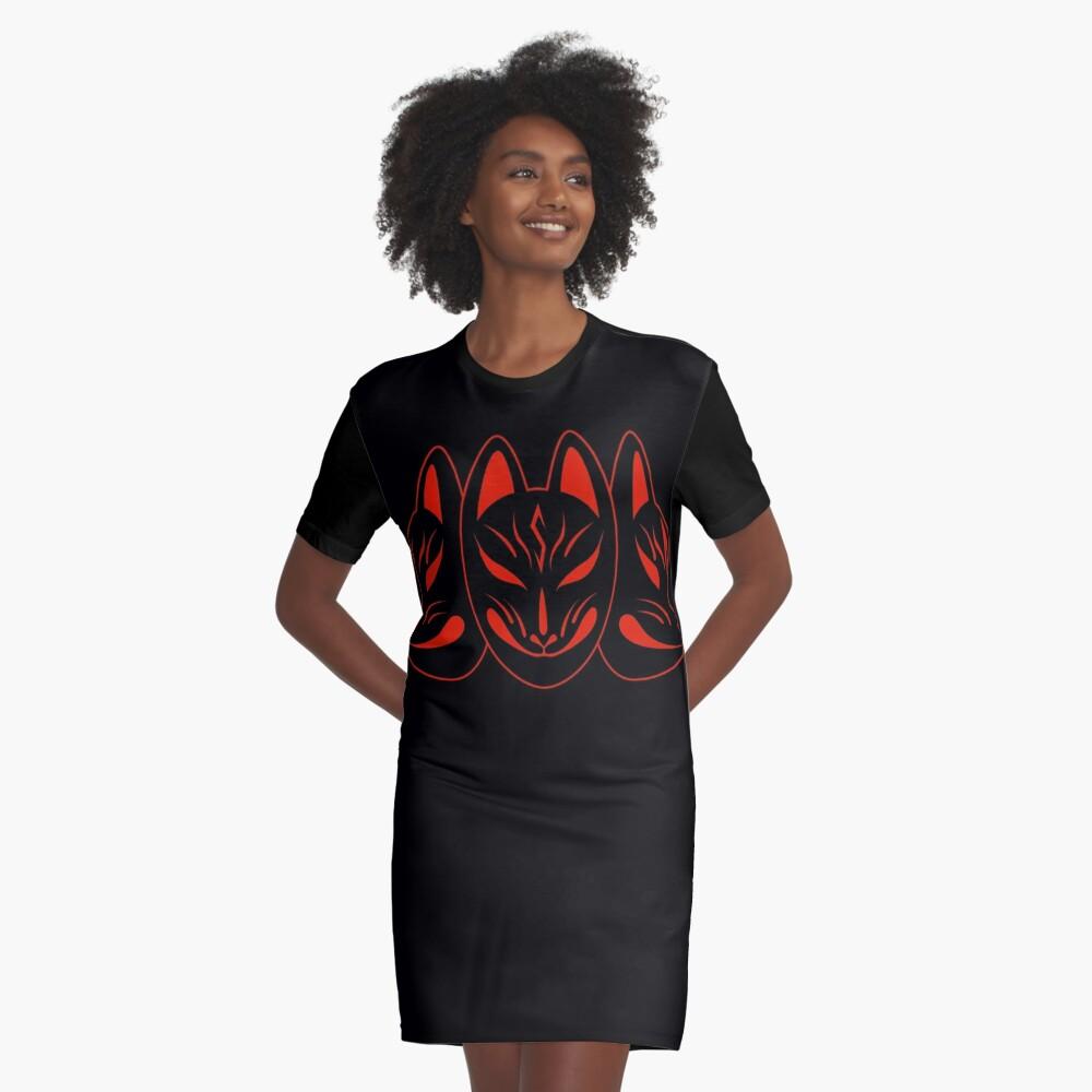 """BabyMetal Fox Logo 2018 Moa Su Yui"" Graphic T-Shirt Dress ..."