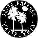 "Santa Barbara California 3"" Decal Sticker Surfing Pacific Ocean Surf by MyHandmadeSigns"