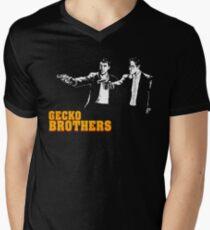 Gecko Brothers Men's V-Neck T-Shirt