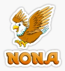 Nona Eagle Sticker Sticker