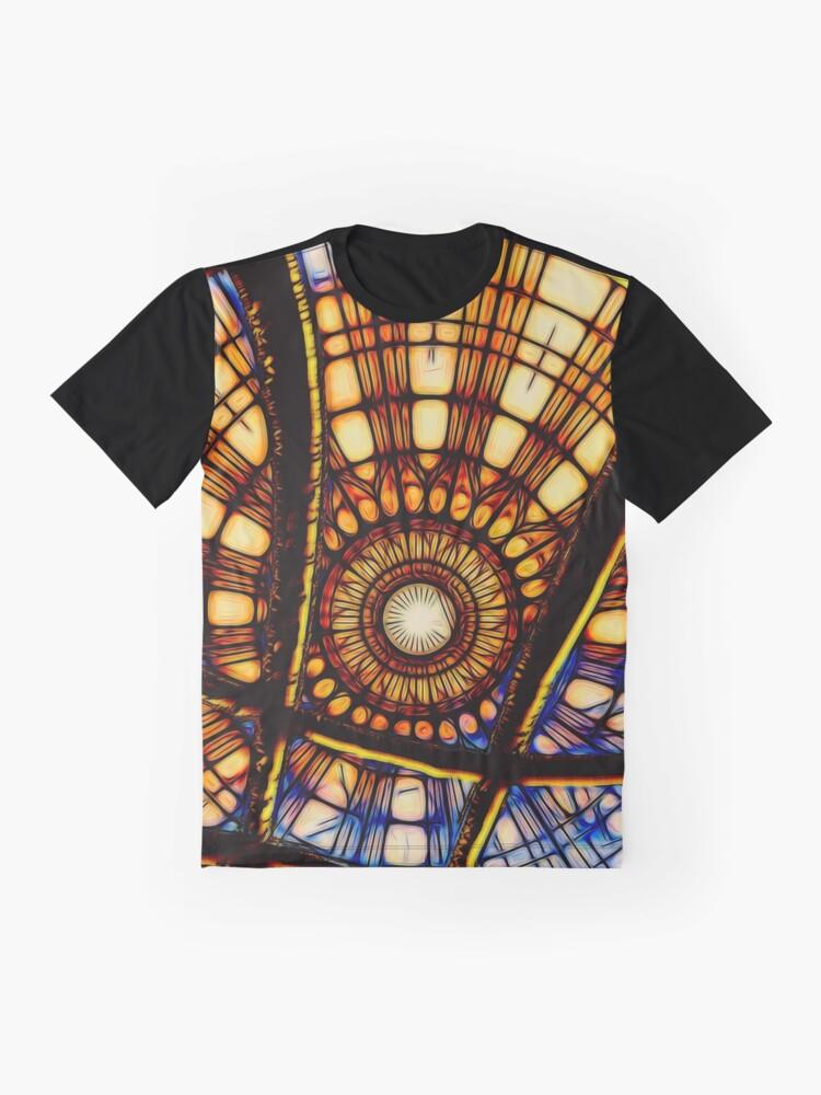 Alternate view of Dr. Strange, magical symbol, sanctum sanctorum Graphic T-Shirt