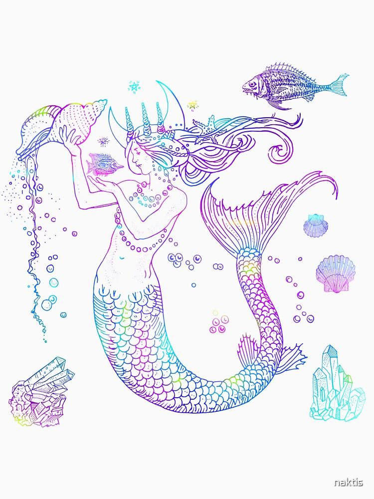 Mermaid Princess by naktis