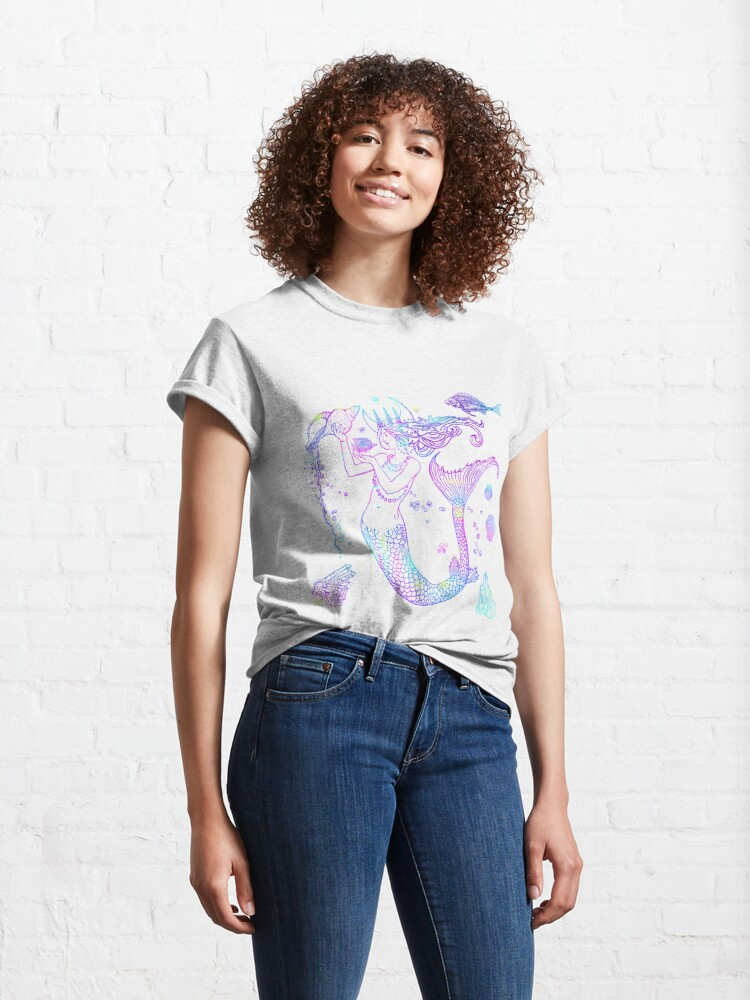 Alternate view of Mermaid Princess Classic T-Shirt
