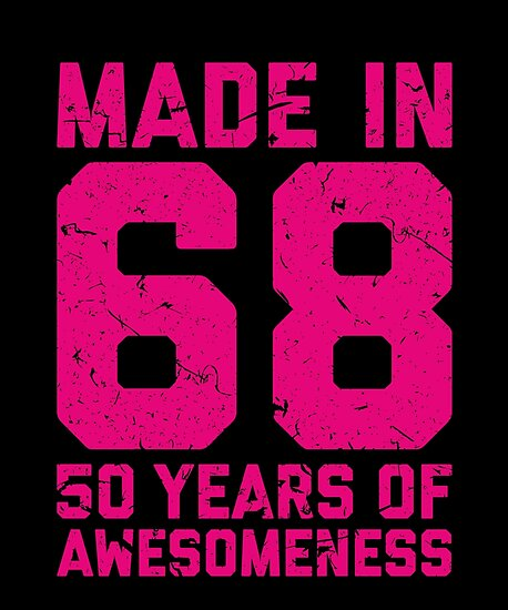 50th Birthday Gift Adult Age 50 Year Old Women Womens By Matt L