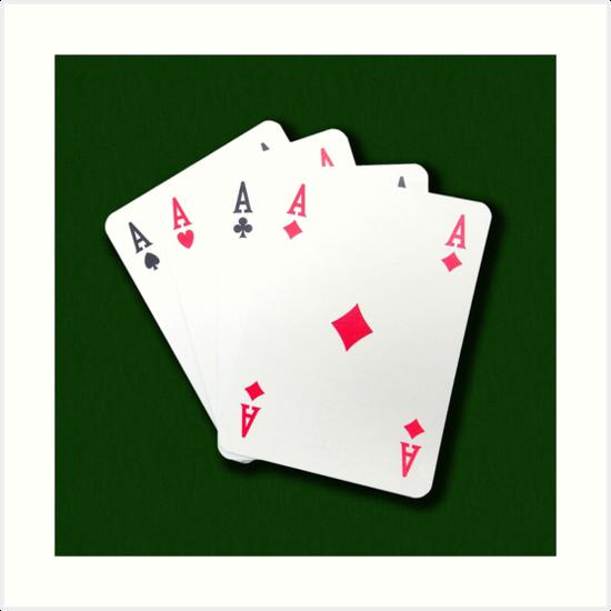 Poker of Aces by Giuseppe 23 Esposito
