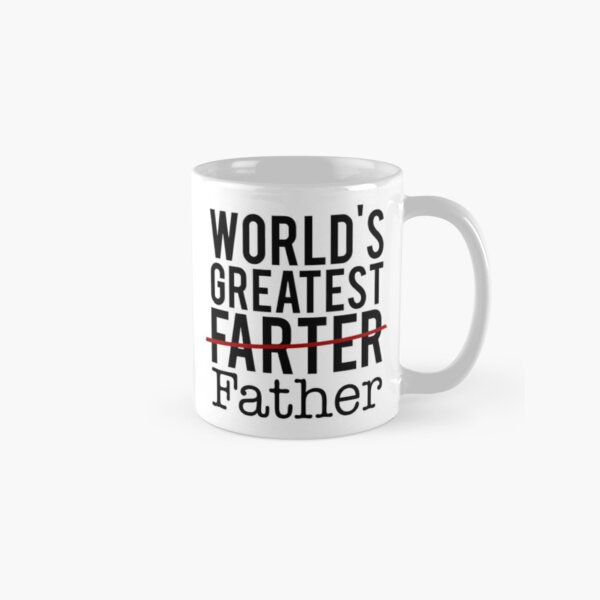 World's Greatest Farter Classic Mug