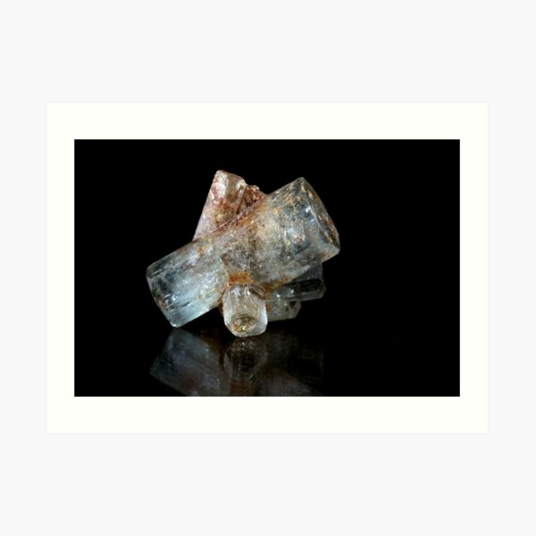 Beryl Crystals Art Print