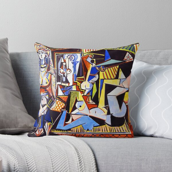 Pablo Picasso The Women of Algiers Throw Pillow
