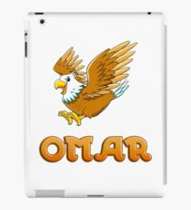Omar Eagle Sticker iPad Case/Skin