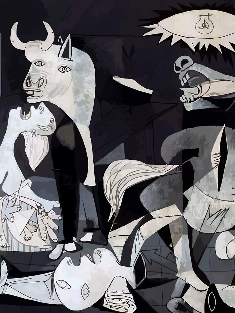 Pablo Picasso Guernica von tanabe