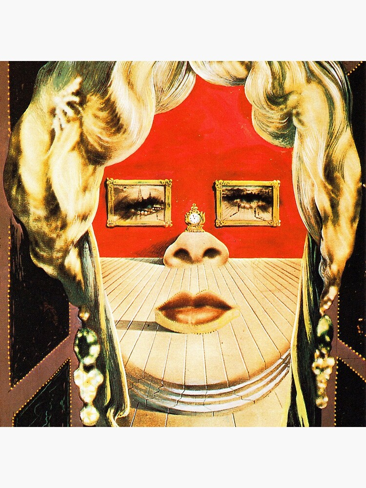 Salvador Dali Mae West Surrealist Famous Paintings  by tanabe