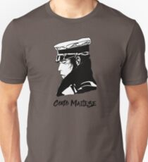 Corto maltesischer Hugo Pratt Comic Slim Fit T-Shirt