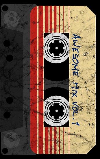 vintage awesome mixtape vol 1 posters by anne mathiasz redbubble