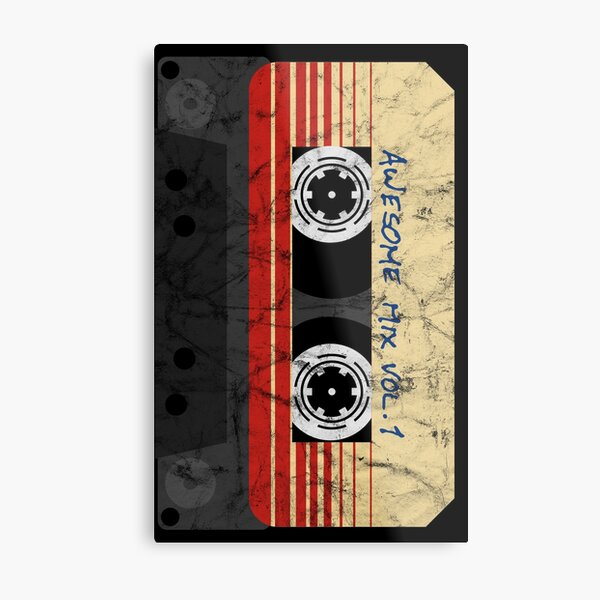 Vintage Awesome Mixtape Vol. 1 Metal Print