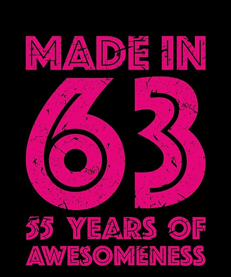 55th Birthday Gift Adult Age 55 Year Old Women Womens Posters By