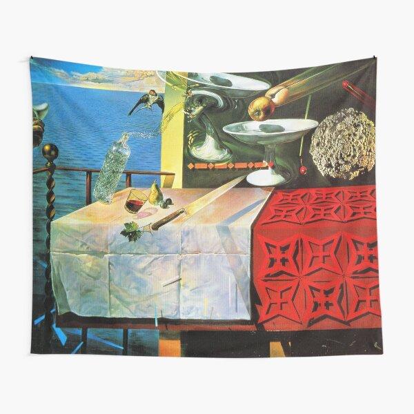 Salvador Dali - Still life painting Tapestry