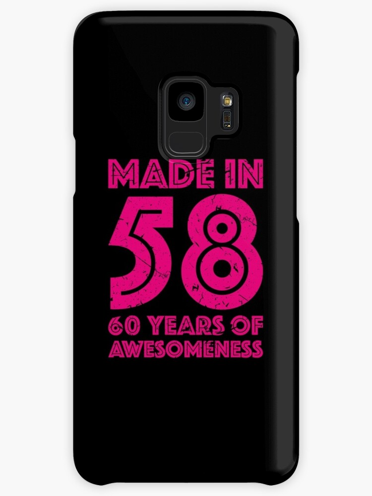 60th Birthday Gift Adult Age 60 Year Old Women Womens