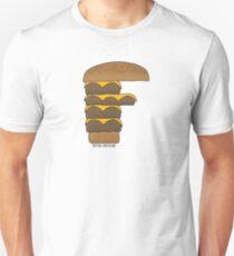 FFFFFFF - F'n Burger Unisex T-Shirt