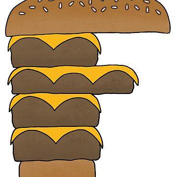 FFFFFFF - F'n Burger by ThatDeanBGuy