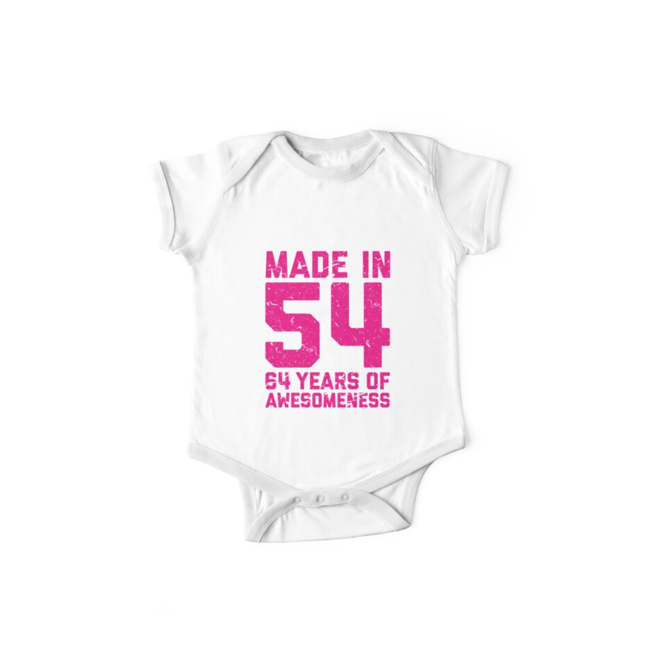 64th Birthday Gift Adult Age 64 Year Old Women Womens One Piece