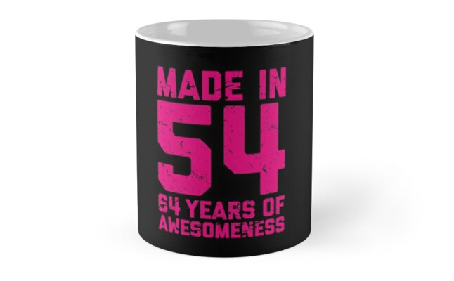 64th Birthday Gift Adult Age 64 Year Old Women Womens By Matt L