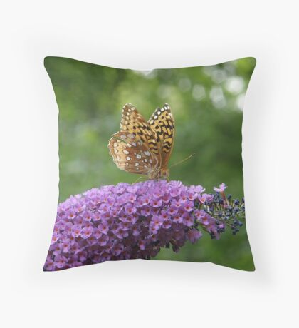 Home Is Where the Nectar Is Throw Pillow