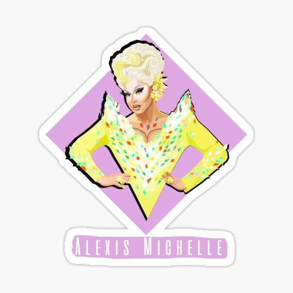 Alexis Michelle RPDR inspired design  Sticker
