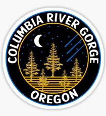 Columbia River Gorge National Scenic Area Oregon Cascade Mountains Sticker