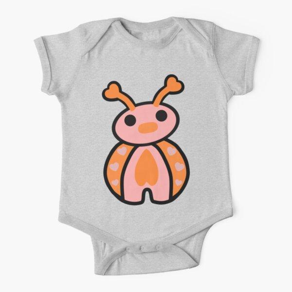 Epo the Ladybug Chummy  Short Sleeve Baby One-Piece