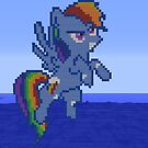 My little pony flying by KewlKevin