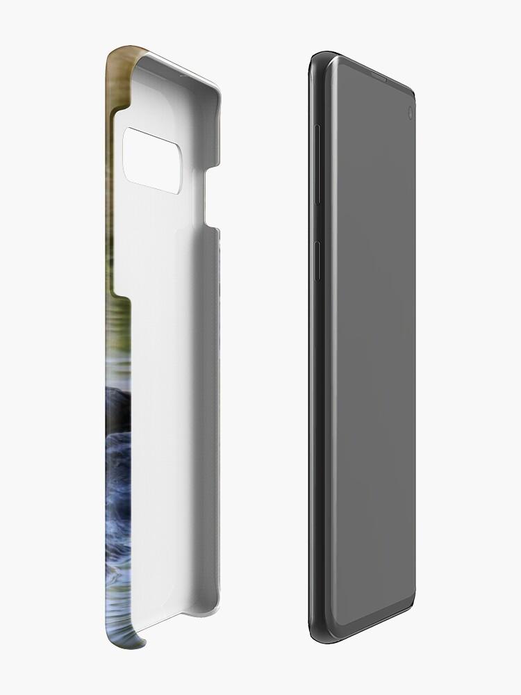 Alternative Ansicht von Hier komme ich Hülle & Klebefolie für Samsung Galaxy