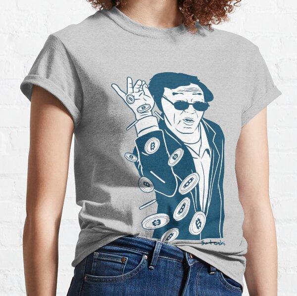 Satoshi Nakamoto Classic T-Shirt