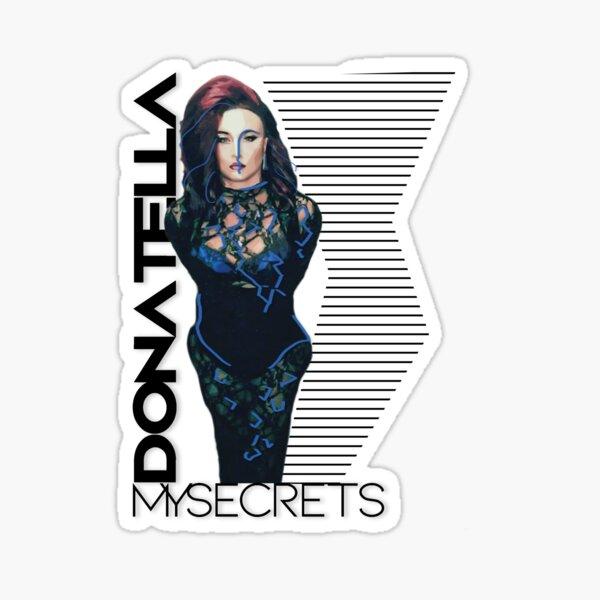 Donatella MySecrets - White Sticker