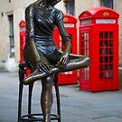 The Ballerina of Covent Garden in London, England by Yen Baet