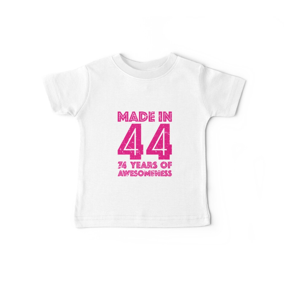 74th Birthday Gift Adult Age 74 Year Old Women Womens By Matt L